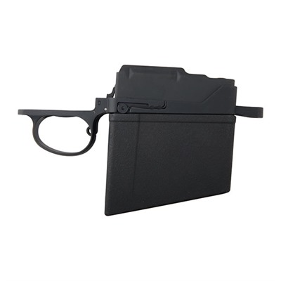H-S Precision Remington 700 Long Action Detachable Magazine Bottom Metals - Long Action Magnum Bottom Metal With 8rd Magazine