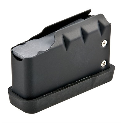 Remington 700 4rd Magazine 223/5.56 - Remington 700 Magazine 223/5.56 4rd Stainless Steel Black