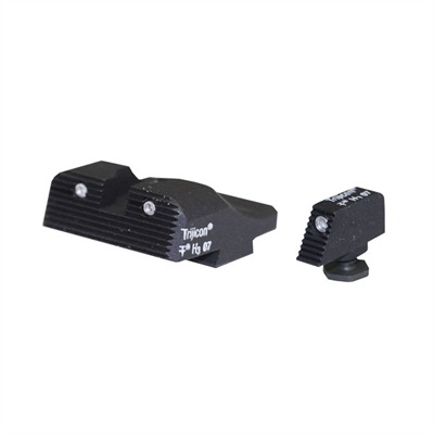 Semi-auto Slantpro? 3-d Night Sights #319 Slantpro 3d Trit. Set for Glock : Handgun Parts by Heinie for Gun & Rifle