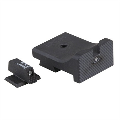 "Semi-auto ""straight Eight"" Night Sights 3000 1911 Auto Straight Eight Sight : Handgun Parts by Heinie for Gun & Rifle"