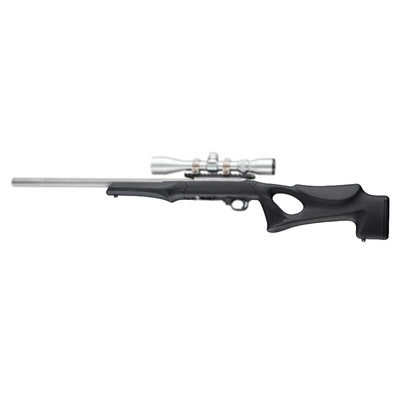 Ruger 10/22 .920 Barrel Stock Thumbhole - Ruger 10/22 .920 Barrel Stock Thumbhole Rubber Blk