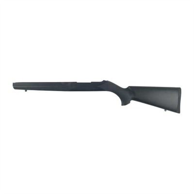 10/22 Bull Barrel Channel Overmolded Rifle Stocks - Ruger 10/22 Stock, B/B Nylon Covering