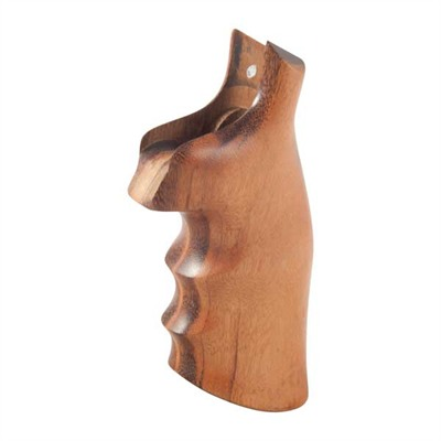 Hogue Wood Monogrips - Smooth Goncalo Alves Grip Fits S&W N Square