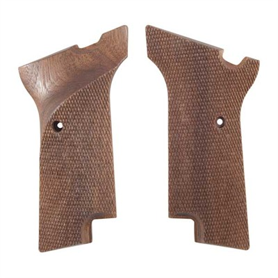 Grips, Checkered, Left Hand Thumbrest, Walnut
