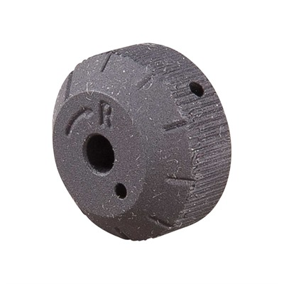 Rifle  Rear Sight Windage Knob   Black