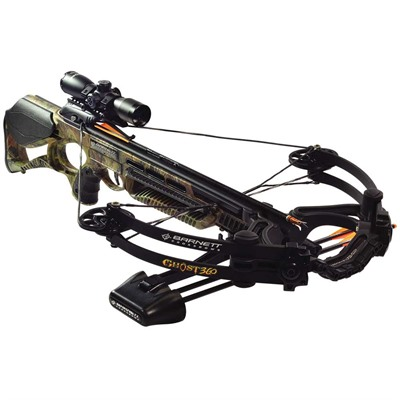 Barnett Ghost 360 Crt Crossbow Package W/3x32 Scope