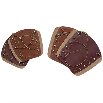 Deluxe Traditional Armguard Brown  6 1/4