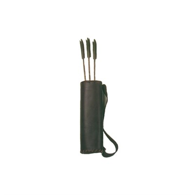 18 Arrow Leather Back Quiver Kit