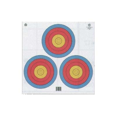 4-Color Fita Official 3-Spot Target