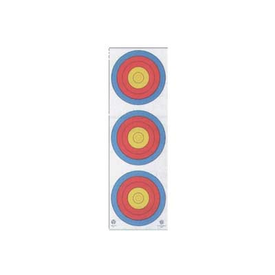 4-Color Fita Official 3-Spot Vertical Target