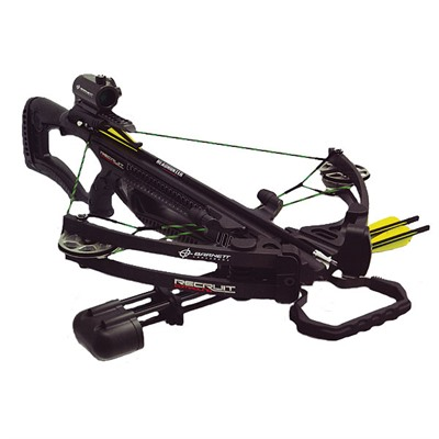 Recruit Compound Crossbow Package W/Red Dot Scope