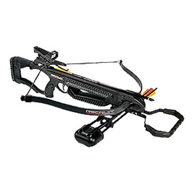 Recruit Recurve Crossbow Package W/Red Dot Scope