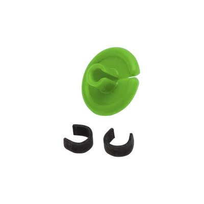 "String Love 2 0 Kisser Button 9/16"" Flo Green Discount"