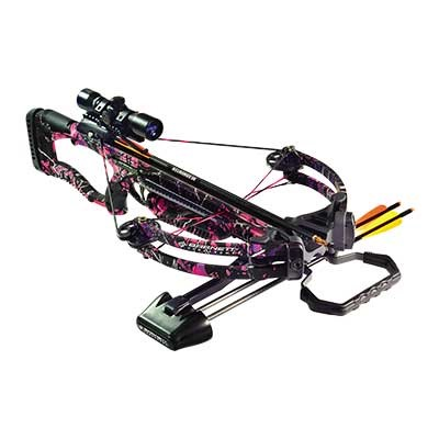 Barnett Raptor Crossbow Package W/Scope