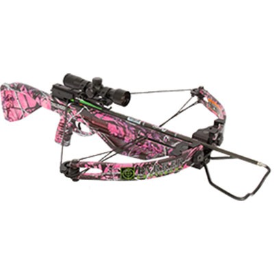 Pink Challenger Xbow Package W/Multi Reticle Scope