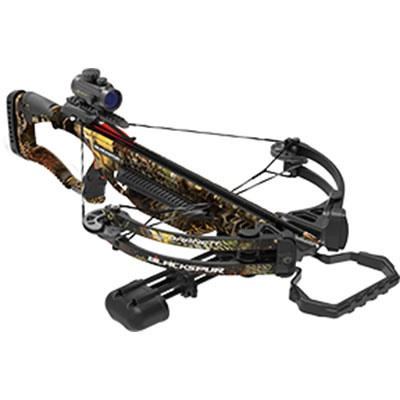 15 Black Spur Crossbow Package W/Red Dot Scope