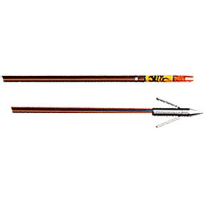 Hydro Carbon Arrow W/Safety Slide Big Head Point