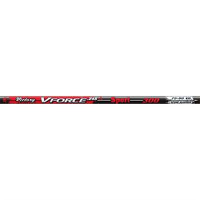 V-Froce Sport Shafts, Nock Installed