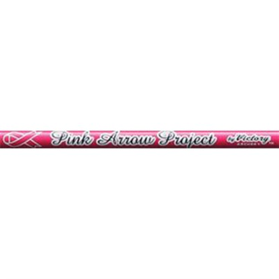 V-Force V3 Gamer Pink Raw Shafts, Nock Installed