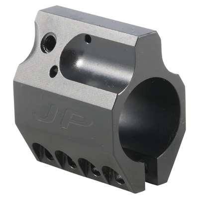 J P Enterprises Ar-15/M16 Adjustable Gas Blocks - Low Profile Adjustable Gas Black .750