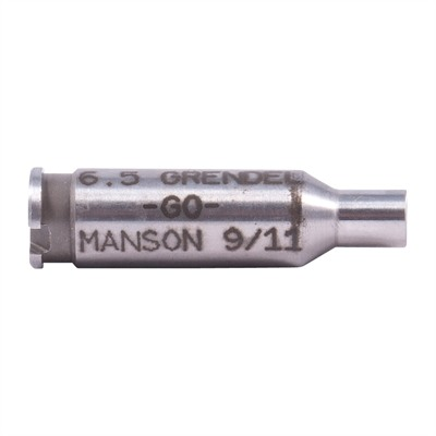 Manson Precision Rimless Rifle/Shotgun Cartridge Headspace Gauges - Go Gauge, Fits 6.5 Grendel