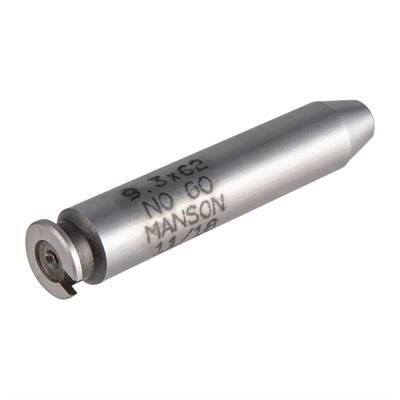 Manson Precision Rimless Rifle/Shotgun Cartridge Headspace Gauges - No Go Gauge, Fits 9.3 X 63