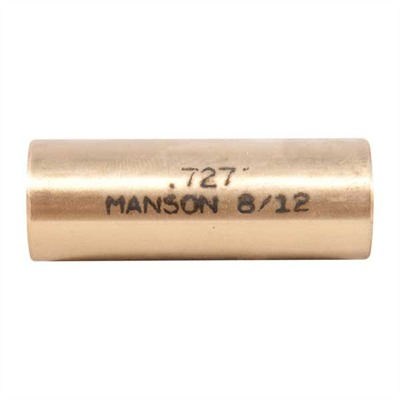 Manson Precision Reamer/Tap Bushings - 12 Gauge .727