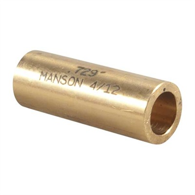 Manson Precision Reamer/Tap Bushings - 12 Gauge .729