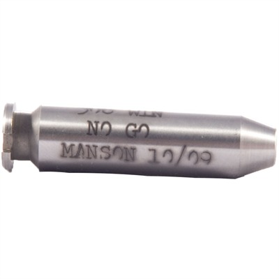 Manson Precision Rimless Rifle/Shotgun Cartridge Headspace Gauges - No Go Gauge, Fits .243 & .308 Winchester, 7mm-08 Remington