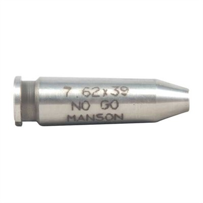 Manson Precision Rimless Rifle/Shotgun Cartridge Headspace Gauges - 7.62x39mm No-Go Gauge