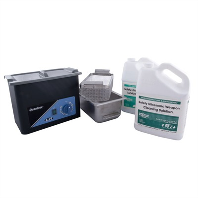 Quantrex 140 Ultrasonic Cleaning & Lubrication System - Q-140 Gun Cleaning Package