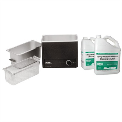 Quantrex 210 Ultrasonic Cleaning & Lubrication System - Q-210 Gun Cleaning Package