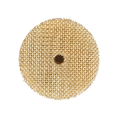 Brownells Lewis Lead Remover - Brass Patches, 10-Pak, .32
