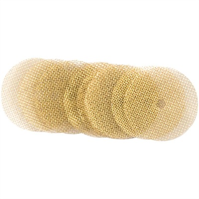 Brownells Lewis Lead Remover - Brass Patches, 9mm/.38