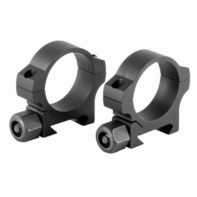 Nightforce Standard Duty Rings 30mm - 30mm High (1.25