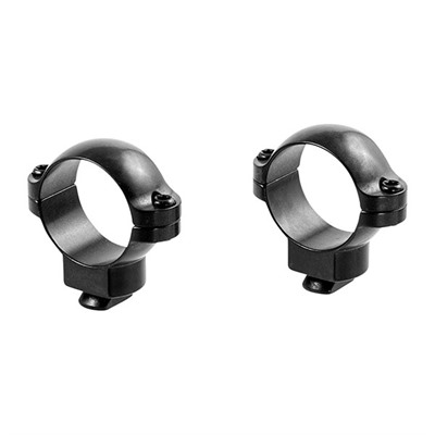 Leupold Dual Dovetail Rings - Dual Dovetail Rings 1-In Medium Gloss