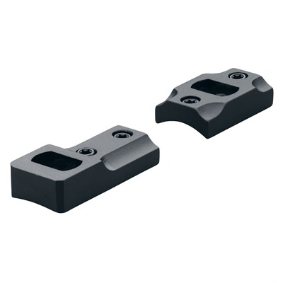 Leupold Ruger American 2 Piece Dual Dovetail Bases Ruger American Rvr 2 Piece Matte Black