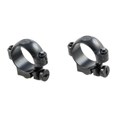 Leupold Ruger Ring Mounts Ruger #1 & 77/22 1 In Low Gloss Online Discount