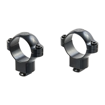 Leupold Dual Dovetail Rings - Dual Dovetail Rings 1-In High Gloss