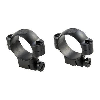 Leupold Ruger Ring Mounts - Ring Mounts Ruger M77 30mm Medium Matte