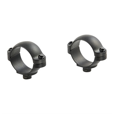 Leupold Quick Release Mounting System Rings - Qr Rings 1-In Super Low Matte
