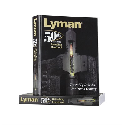 Lyman 50th Edition Reloading Handbook - 50th Edition Reloading Handbook Softcover