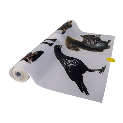 Target Roll For Auto Advance Target System - Varmint Target Roll For Auto Advance Target System