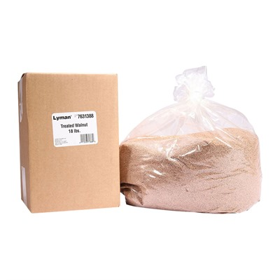 Lyman Turbo Case Cleaning Media - Treated Walnut 18lbs Value Pack