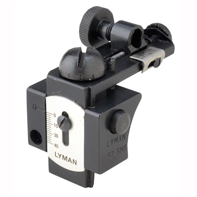 Lyman Browning  Model 57 Sme - Browning  Adjustable Tang Sight Model 57 Sme Black