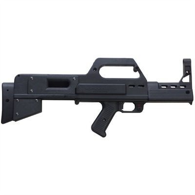 Ruger 10/22 Muzzlelite Stock Bullpup - Ruger 10/22 Muzzlelite Stock Bullpup Composite Blk