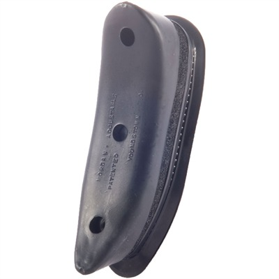 Morgan Rifle Complete Curved Pad - Complete Curved Pad Black Rubber
