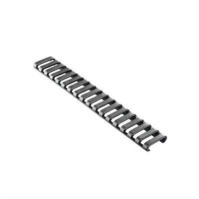 Ergo Grips 18-Slot Lowpro Ladder Rail Cover - Picatinny  Rail Guard - Lowpro Rail Guard Picatinny Polymer Black 6