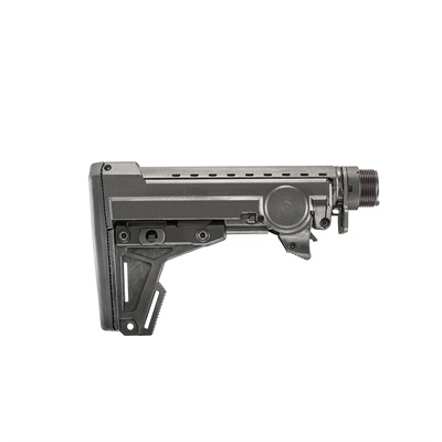 Ergo Grips Ar-15 Ergo Pro Stock - 8-Position Collapsible Carbine Length - Ar-15 Pro Stock Collapsible Carbine Length Blk
