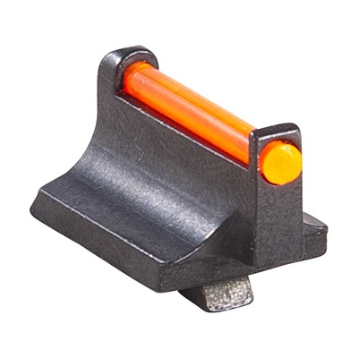 "Ruger® Revolver Fiber Optic Front Sight - Orange, .390"" Height"